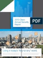 Cisco Annual Security Report 2013