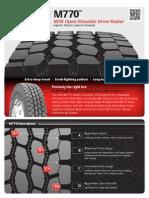 m770 Tire Brochure