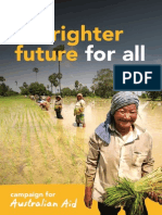 Campaign For Australian Aid Booklet