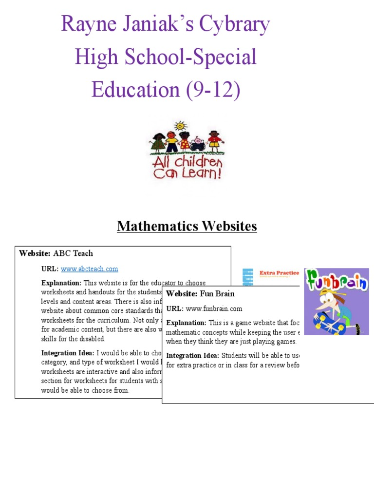 edu223-cybrary | Websites | Physics & Mathematics