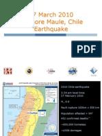 Chile Sismo Estructuras