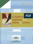 La Especializacion Linguistica en El Ambito Del Turismo De