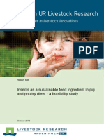 Informe 638. Insects as a Sustainable Feed Ingredient in Pig and Poultry Diets Octubre 2012.