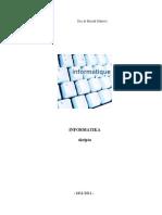 Informatika -Skripta
