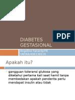 Diabetes Gestasional