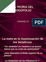 LA TEORIA DEL MONOPOLIO