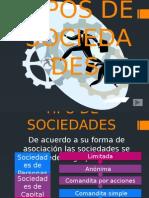 Tipos de Sociedades en Colombia