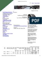 R268 Bridgestone Commercial Truck Tires