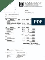 FDAS - Contractor - Yekyeu - Quotation