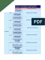 Frances Libros de Texto y Lectura Curso 2014-15