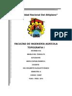 Manejo Del Teodolito Informe 4