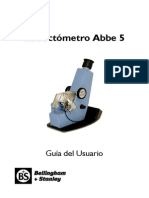 Abbe 5 User Guide ES - A5 Format