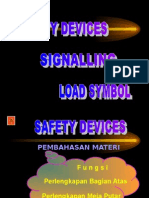 06. Safety Device, Kom, Simbol Barang