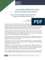 Informe Geenap. Encuentro Bilateral Argentina Rusia.docx