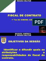 Palestra - Fiscal de Contrato