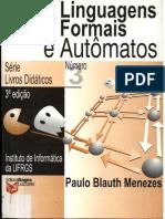livro Linguagens Formais e Autômatos