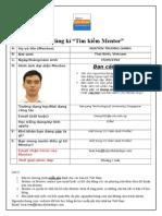 Nguonhocbong.com Form Mentee