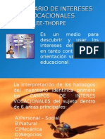 Ficha Tecnica Del Lee Thorpe
