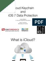 ICloud Keychain and IOS 7 Data Protection presentation