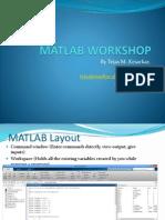 MATLAB Workshop - Part 1