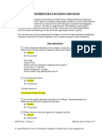 2013-05-02 Distributor Evaluation Checklist for Account Managers (Ultimo)