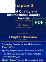 Ch03-newGlobal Quality and International Quality Awards