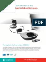 Logitech ConferenceCam CC3000e Data Sheet_WEB-PGS