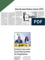 Activos de CoopzoAmérica crecen 22%