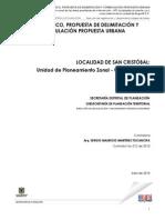 Diagnostico y Propuestas Urbanas Mejoramiento Integral UPZ 32 Bogota