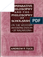 Comparative Philosophy and the Philosophy of Scholarship