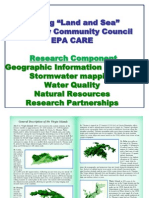 linking land and sea coral bay community council epa care watersheds and wetlands