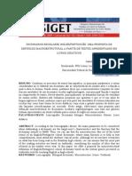 Dicionarios Escolares Ingles Portugues Uma Proposta de Definicao Macroestrutural