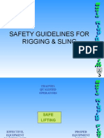 Rigging & Sling Safety Guidelines