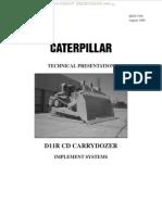Caterpillar D11R CD Carrydozer Implement Systems Manual