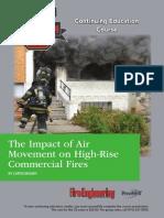 Desplazamiento de masas de aire en incendios estructurales