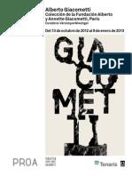 Giacometti PressKit