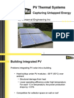PV Thermal Systems - July 04.07