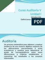 UNIDAD 1 - Auditoría V