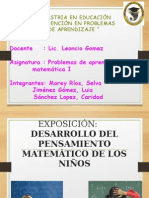 EXPOSICIÓN Seminario Matemáticas PP