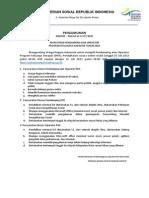 Pengumuman Recruitment PKH Juli 2015