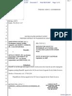 Omni Innovations LLC et al v. Apollo Group Inc et al - Document No. 7