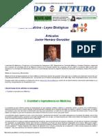 Nueva Medicina Germanica NMG Articulos Javier Herraez España