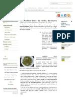 Cómo cultivar brotes de semillas de sésamo - plantasParaCurar
