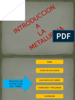 Introduccion a La Metalurgia