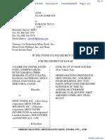 Sylvester et al v. Menu Foods, Inc. et al - Document No. 21