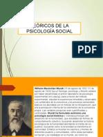 Teóricos Psicología Social