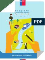 Programa Simce 2015 Docentes