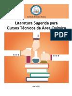 Bibliografia Cursos Técnicos  da área de química 2015