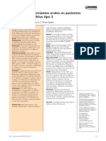 Uso de Hipoglucemiantes Orales en DM2