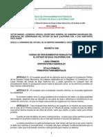 Código de Procedimientos Penales Para El Bcs